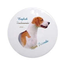 English Fox Best Friend1 Ornament (Round)