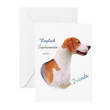 English Fox Best Friend1 Greeting Cards (Pk of 10)