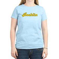 Retro Rocklin (Gold) T-Shirt