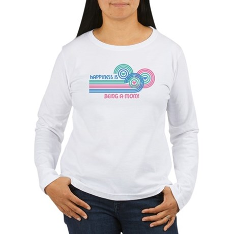 Happiness Mom Women's Long Sleeve T-Shirt