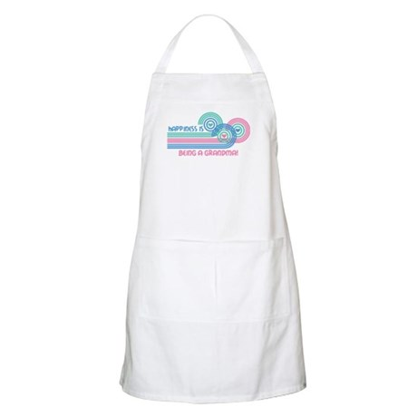 Happiness Grandma BBQ Apron