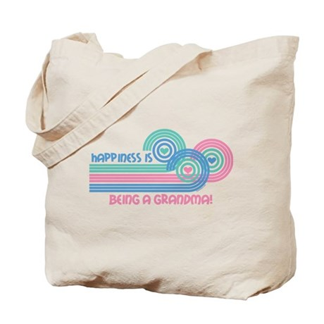 Happiness Grandma Tote Bag