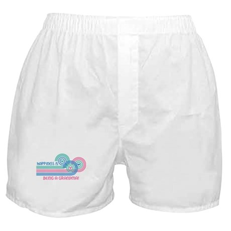 Happiness Grandma Boxer Shorts