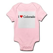 I Love Colorado Infant Creeper