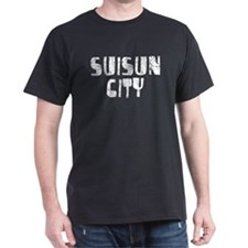 Suisun City Faded (Silver) T-Shirt
