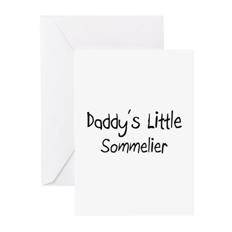 Daddy's Little Sommelier Greeting Cards (Pk of 10)