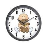 Beary Cute (Boy) Wall Clock