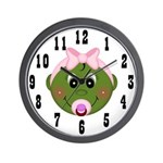 Pod Baby (Girl) Wall Clock