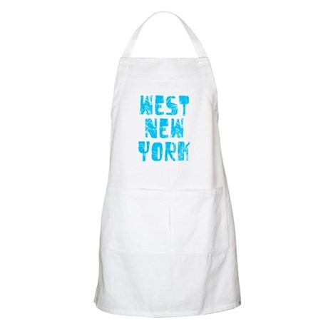 West New York Faded (Blue) BBQ Apron