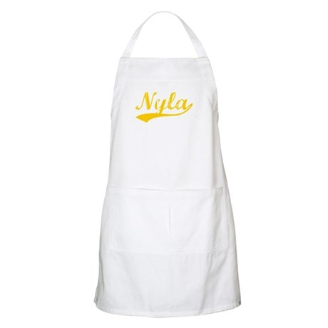 Vintage Nyla (Orange) BBQ Apron