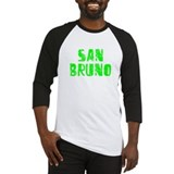 San Bruno Faded (Green) Baseball Jersey