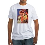 Mandolin Angel /Italian Spino Fitted T-Shirt