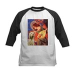 Mandolin Angel /Italian Spino Kids Baseball Jersey