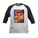 Mandolin Angel /Italian Spino Kids Baseball Jersey