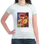 Mandolin Angel /Italian Spino Jr. Ringer T-Shirt