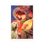 Mandolin Angel /Italian Spino Sticker (Rectangle)