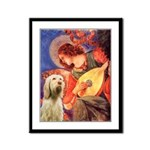 Mandolin Angel /Italian Spino Framed Panel Print