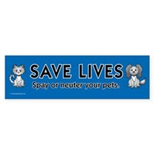 Pets & Animals Bumper Sticker (50 pk)