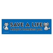 Pets & Animals Bumper Bumper Sticker