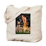 Fairies/ Italian Spinone Tote Bag