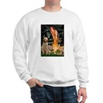 Fairies/ Italian Spinone Sweatshirt