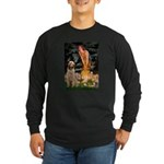 Fairies/ Italian Spinone Long Sleeve Dark T-Shirt