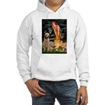 Fairies/ Italian Spinone Hooded Sweatshirt