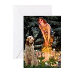 Fairies/ Italian Spinone Greeting Cards (Pk of 20)