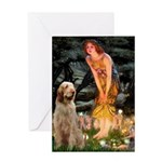 Fairies/ Italian Spinone Greeting Card