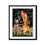 Fairies/ Italian Spinone Framed Panel Print
