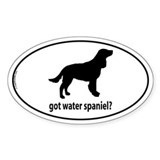 Got Water Spaniel? Oval Decal