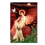 Seated Angel /Italian Spinone Postcards (Package o