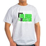 I Wear Lime Green For My Sister 6 T-Shirt