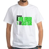 I Wear Lime Green For My Sister 6 Shirt