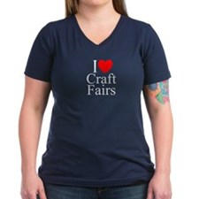 """I Love (Heart) Craft Fairs"" Shirt"