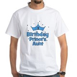 1st Birthday Prince's Aunt! Shirt