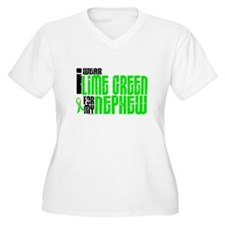 I Wear Lime Green For My Nephew 6 T-Shirt