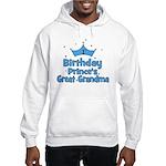 1st Birthday Prince's Great G Hooded Sweatshirt