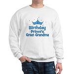 1st Birthday Prince's Great G Sweatshirt