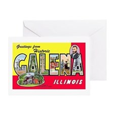 Galena Illinois Greetings Greeting Card
