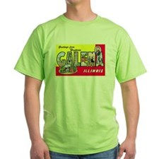 Galena Illinois Greetings (Front) T-Shirt