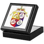 York Rite Crest Keepsake Box