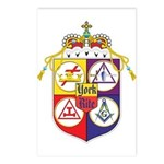York Rite Crest Postcards (Package of 8)