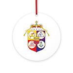 York Rite Masons Ornament (Round)