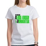 I Wear Lime Green For My Daughter 6 Tee