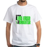 I Wear Lime Green For My Daughter 6 Shirt