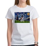 Starry / Schnauzer Women's T-Shirt