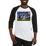 Starry / Schnauzer Baseball Jersey