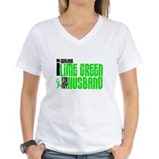 I Wear Lime Green For My Husband 6 Shirt