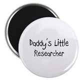 Daddy's Little Researcher Magnet